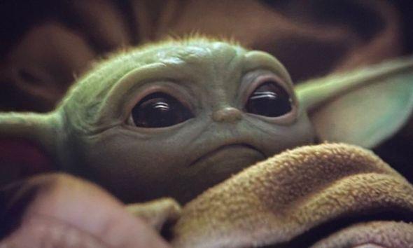 baby Yoda en The Rise of Skywalker