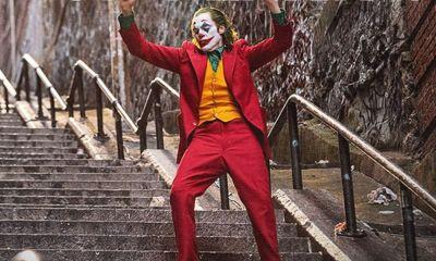 escenas de las escaleras en Joker
