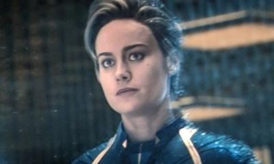 traje de Captain Marvel en 'Endgame' es CGI