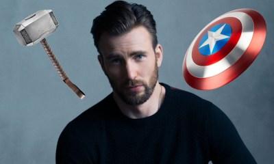 Chris Evans prefiere el martillo de Thor