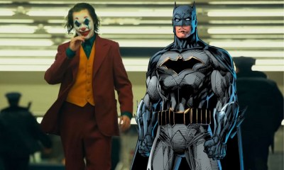 Batman en 'Joker' de Joaquin Phoenix