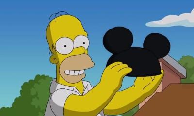 The Simpsons se burlaron de Disney Plus
