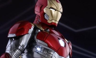 traje de Iron Man que nadie vio