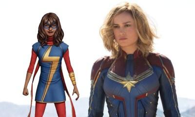 traje de Captain Marvel tenía bufanda como Ms. Marvel