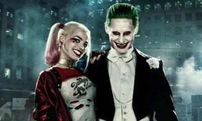 pruebas de maquillaje de Joker y Harley Quinn
