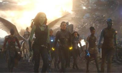 película con el guion falso de 'Avengers: Endgame'