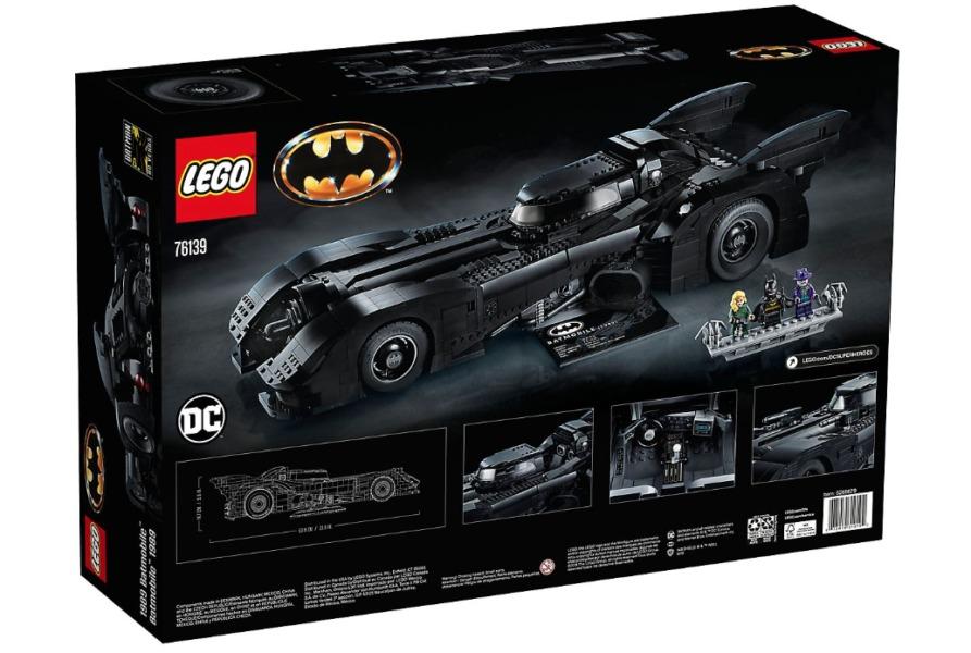 Las imágenes (y el costo) del espectacular Batimóvil de Lego están disponibles