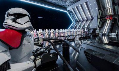 pocas visitas en el parque de Star Wars
