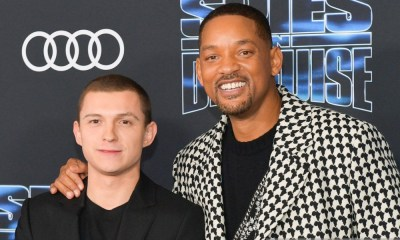 Así se conocieron Will Smith y Tom Holland