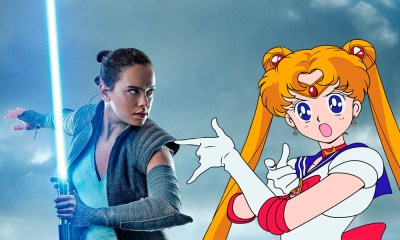 Crossover de star wars y sailor moon