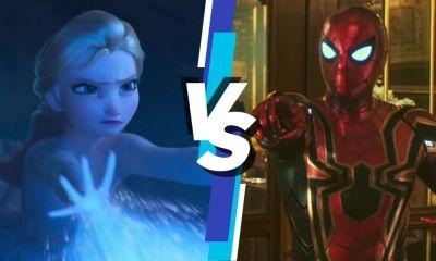 Frozen 2 le ganó en taquilla a Spider-Man