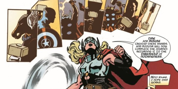 ¿Mega Crossover? Thor confirma que Superman y Wonder Woman son dignos del Mjolnir Jane-Foster-Thor-Superman-Wonder-Woman-600x300