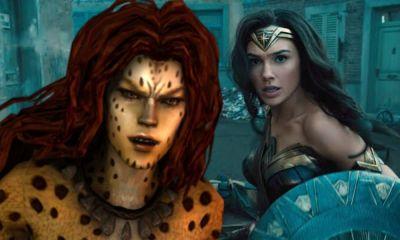 apariencia de Cheetah en 'Wonder Woman 1984'