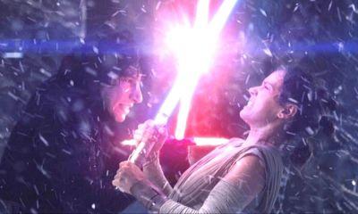 error en escena final de 'The Rise of Skywalker'