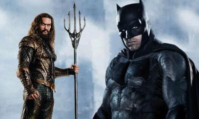 Batman buscando a Aquaman en el Snyder Cut