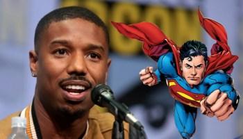Michael B Jordan quiere ser superman