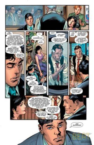 Clark Kent y el Daily Planet ya no estarán relacionados en el futuro de Superman DEspido-de-Superman-326x500
