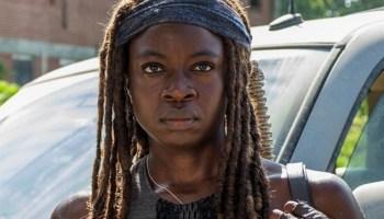 Imagen de Michonne para la décima temporada de 'The Walking Dead'