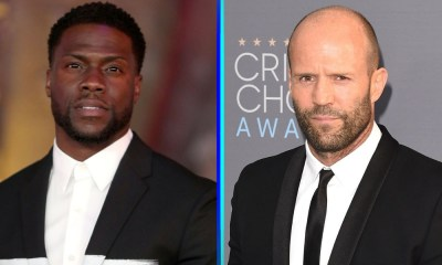 Jason Statham y Kevin Hart en 'The Man from Toronto'