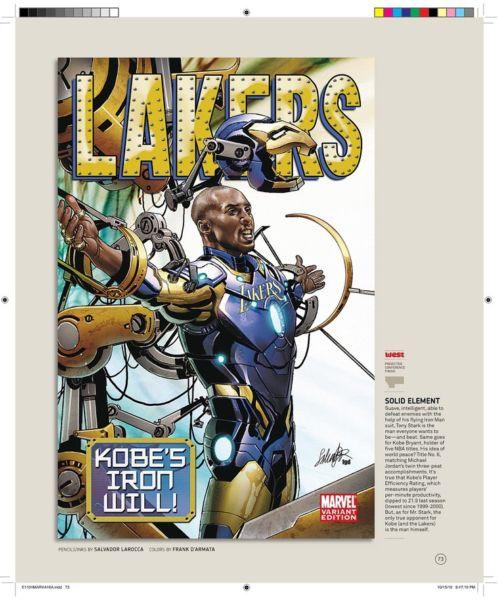 La vez en que Kobe Bryant perteneció a los Avengers Kobe-Bryant-Iron-Man