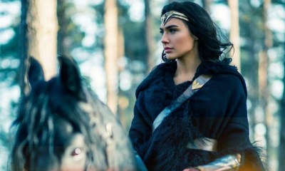 Nueva imagen de 'Wonder Woman 1984' capturando a un criminal