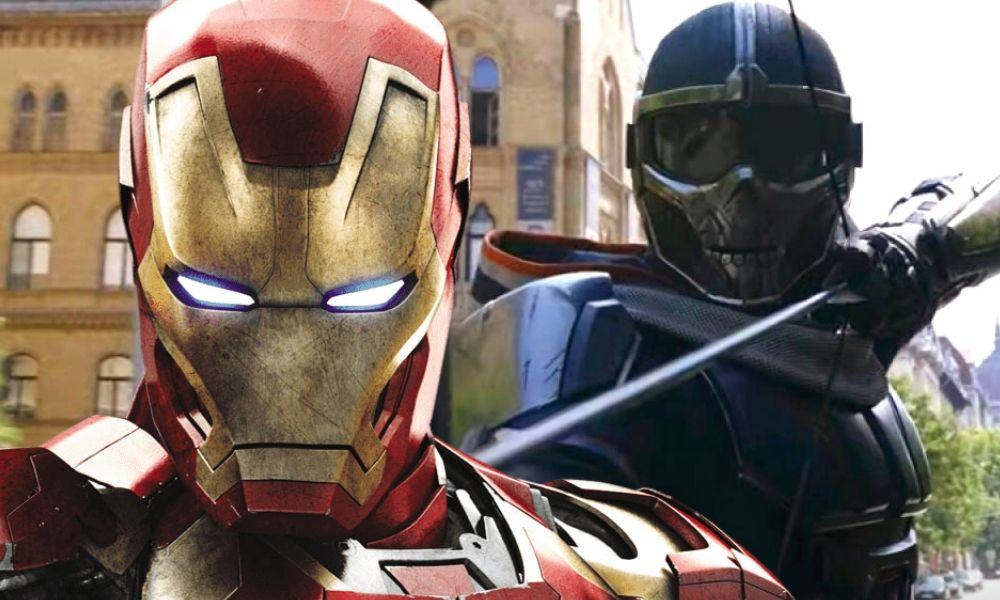 Taskmaster inspirado en Iron Man según los juguetes