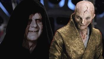conexión entre Snoke y Palpatine