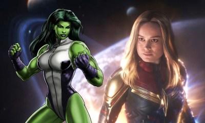 She-Hulk es más poderosa que Captain Marvel