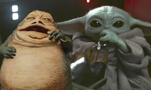 Baby Jabba es mas tierno que Baby Yoda