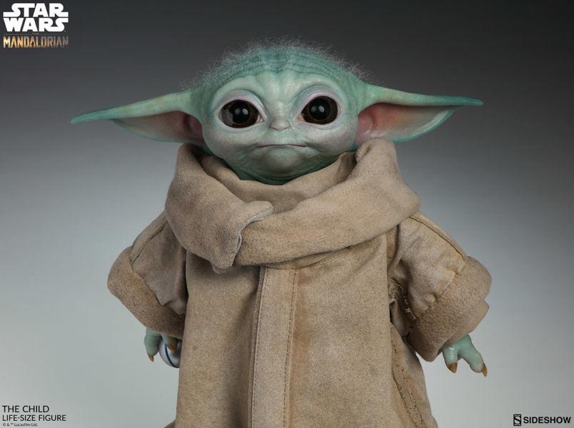 Desde el universo de Star Wars: Baby Yoda en tamaño real existe mun%CC%83eco-baby-yoda-1