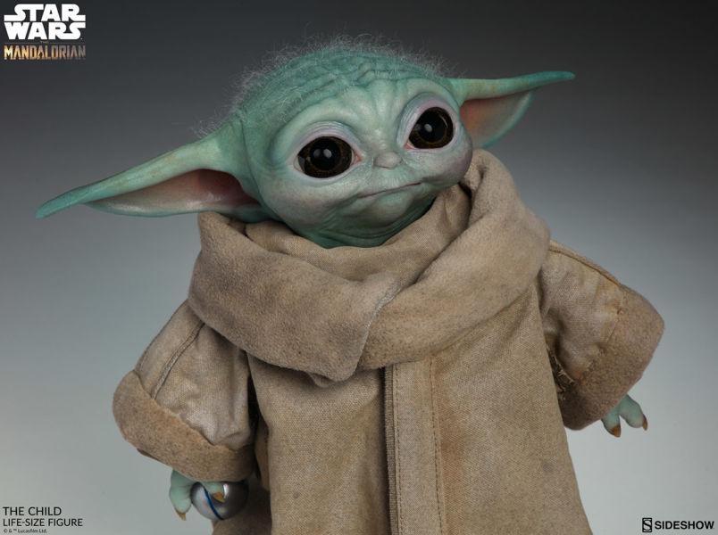 Desde el universo de Star Wars: Baby Yoda en tamaño real existe mun%CC%83eco-baby-yoda-2
