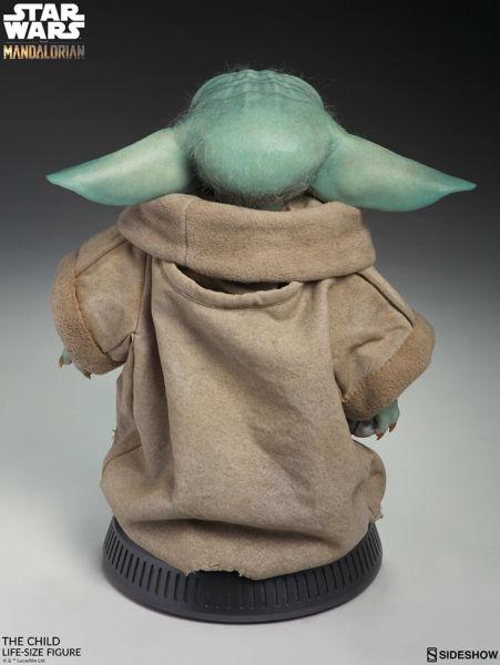 Desde el universo de Star Wars: Baby Yoda en tamaño real existe mun%CC%83eco-baby-yoda-3