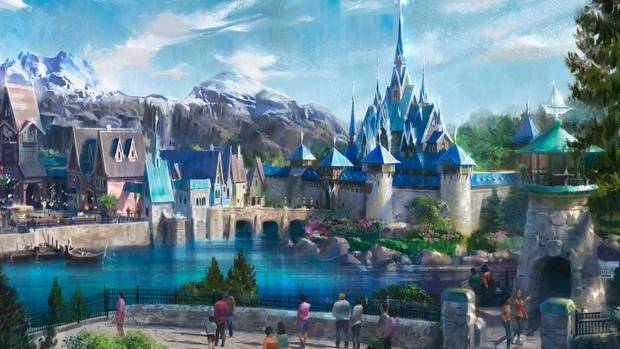 Revelan la primera imagen del parque temático de 'Frozen' 5LTFFZS37JC7DECFTGL4D7V5DI