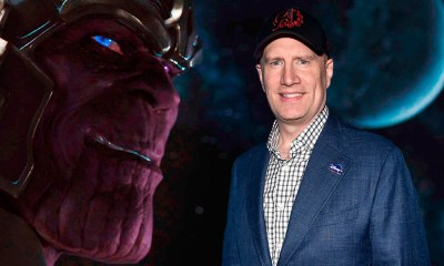 Kevin Feige es la voz de Thanos en 'The Simpsons'
