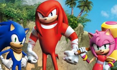 Knuckles en 'Sonic 2'