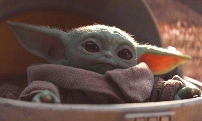 Baby Yoda con ojos de Steve Buscemi