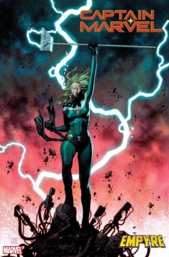 ¿Será una amenaza? Captain Marvel acaba de reemplazar a un villano en el MCU capmarv2019018-cvr-329x500