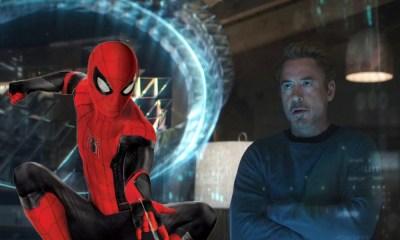 Tony Stark se inspiró en la foto de Spider-Man para crear la maquina del tiempo