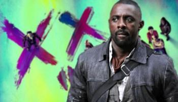 Idris Elba en las grabaciones de 'The Suicide Squad'