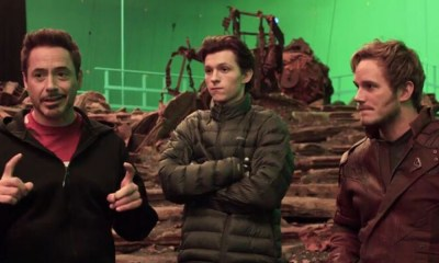 Tom Holand le hizo una broma a Chris Pratt