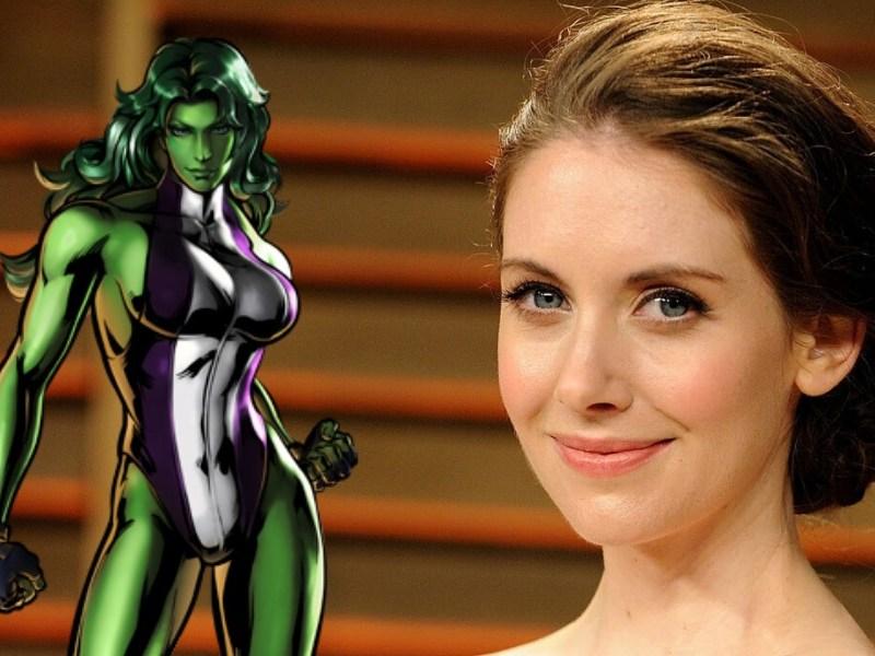 Alison Brie habló sobre 'She-Hulk'