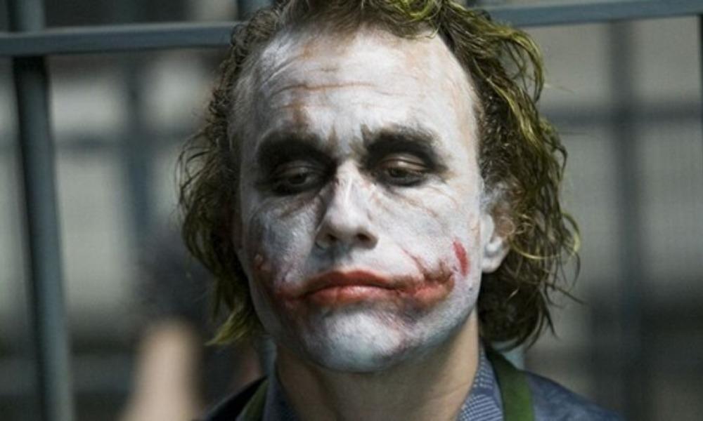 inspiración para las cicatrices del Joker de Heath Ledger