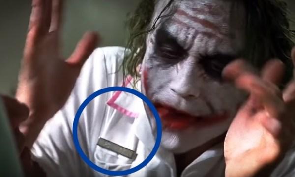 Heath Ledger hizo una referencia a su hija en 'The Dark Knight'