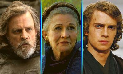 Luke Leia y Anakin podrían regresar