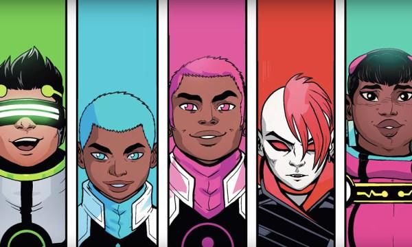 ¿Quién es Snowflake, primer superhéroe de género no binario? new-warriors-600x360