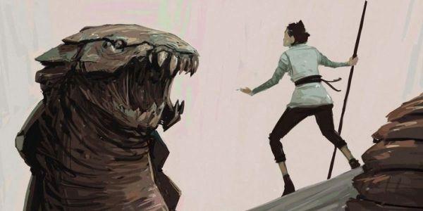 ¡No sólo Palpatine! Revelan cómo era el villano que Rey enfrentaba en 'The Rise of Skywalker' nuevo-villano-de-rey-en-the-rise-of-skywalker-2-600x300