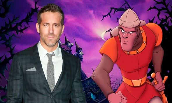 Ryan Reynolds protagonizaría Dragons Lair