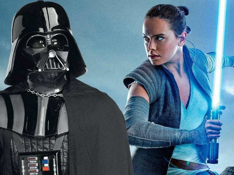 Rey usaba los poderes de Darth Vader