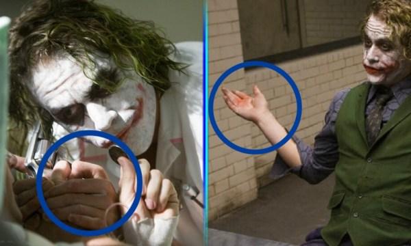 Heath Ledger se maquillaba como Joker