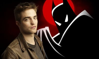 Fan art de Robert Pattinson como Batman